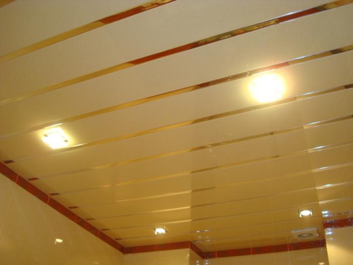 Потолки реечные дизайн